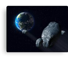 Ominous asteroid Canvas Print