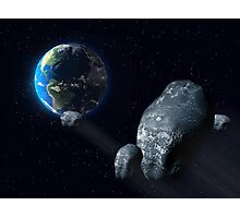 Ominous asteroid Photographic Print