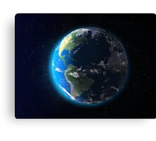 Earth Dawn Canvas Print