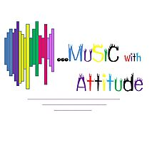 Music with attitude Photographic Print