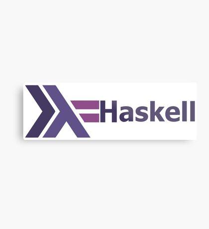 haskell programming language  Metal Print