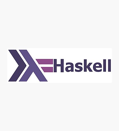 haskell programming language  Photographic Print
