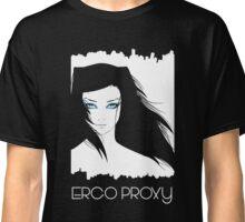 Ergo Proxy Re-I White & Blue Eyes Classic T-Shirt