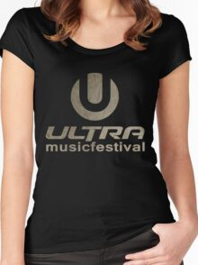 Ultra Music Fest Women's Fitted Scoop T-Shirt