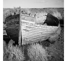 Old Norfolk Wreck Photographic Print