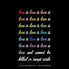 Love Is Love Is Love [Black] by lauraroslin