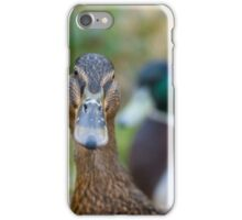 Mallard ducks iPhone Case/Skin
