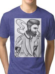 indie rock man Tri-blend T-Shirt