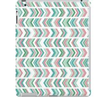 Peony and Seafoam Chevron iPad Case/Skin