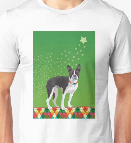 Meryl the Boston Terrier Unisex T-Shirt