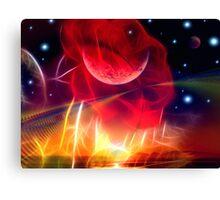 Lunar Rose Canvas Print
