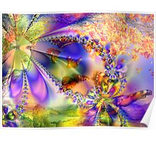Beauty and Light of Nature Poster