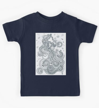 Water - Four mythical elements Kids Tee