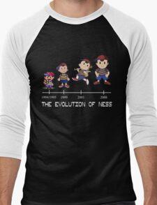 Ness - EarthBound Men's Baseball ¾ T-Shirt