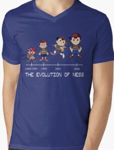 Ness - EarthBound Mens V-Neck T-Shirt