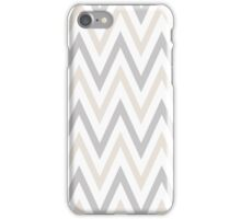 Sterling and Platinum Chevron iPhone Case/Skin