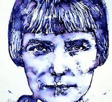 KATHERINE MANSFIELD portrait by lautir
