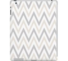 Sterling and Platinum Chevron iPad Case/Skin