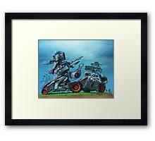 All terrain technical mech Framed Print