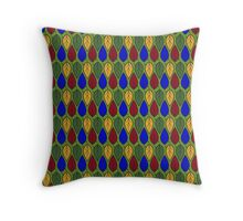 Multicolor Leaf pattern Throw Pillow