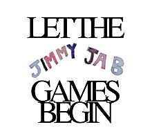 Jimmy Jab Games Photographic Print