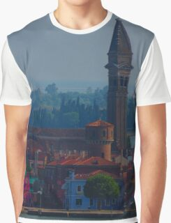 Island off Venice Graphic T-Shirt