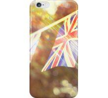 British Union Jack flag bunting  iPhone Case/Skin