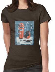 Robo-Tini Womens Fitted T-Shirt