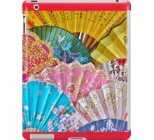 Colorful Chinese Fans iPad Case/Skin