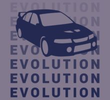 Mitsubishi Evolution JDM Shirt by MikeKunak