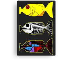 The Hitchhikers Guide to the Galaxy - 3 Babel Fish Canvas Print