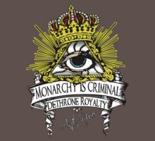 Anti NWO - Monarchy Is Criminal by IlluminNation