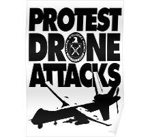 Protest Drone Attacks Poster