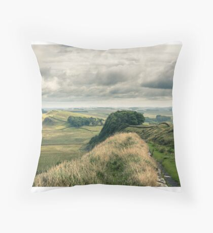 Landscape Collection - Hadrian's Wall Throw Pillow