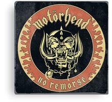 Motorhead (No Remorse) Vintage 2 Canvas Print