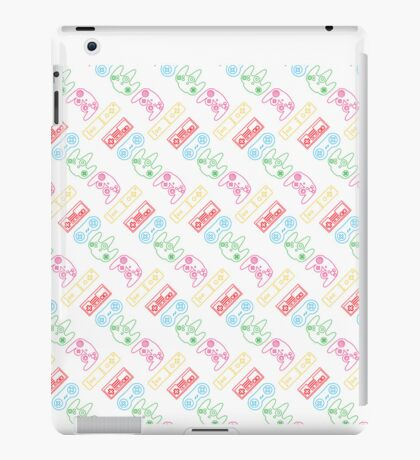 Nintendo Controller Party Pattern iPad Case/Skin