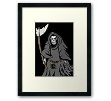 The reaper Framed Print