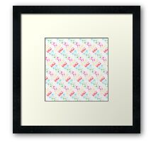 Nintendo Controller Party Pattern Framed Print