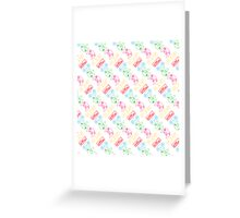 Nintendo Controller Party Pattern Greeting Card