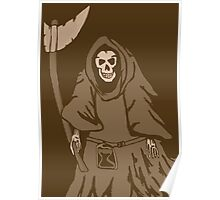 The reaper vintage Poster