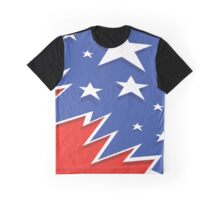 Red White Blue Graphic T-Shirt
