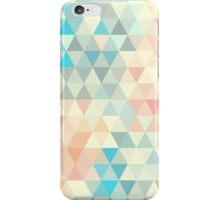 Triangle neutral abstract seamless pattern iPhone Case/Skin