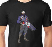 Soldier 76 Pixelated Unisex T-Shirt