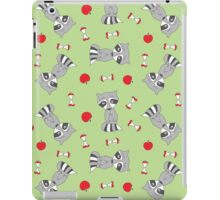Hungry racoons iPad Case/Skin