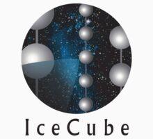 IceCube Neutrino Observatory Logo Kids Tee