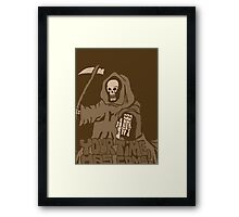 Your time has come!Vintage Framed Print