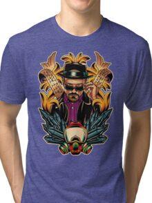 Breaking Bad - Walter White / Heisenberg Tribute Tri-blend T-Shirt