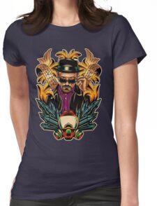 Breaking Bad - Walter White / Heisenberg Tribute Womens Fitted T-Shirt
