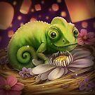 Lizard Under the Lights by Alyssa May