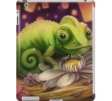 Lizard Under the Lights iPad Case/Skin